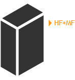 Configuración Bifrencuencial (BF) de un sistema de potencia de inducción