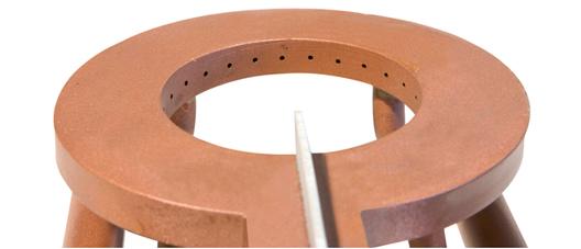 Traditionell hergestellter Kupfer-Induktor