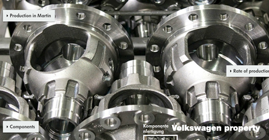 Volkswagen orders GH flaschwelle and gearbox hardening installations