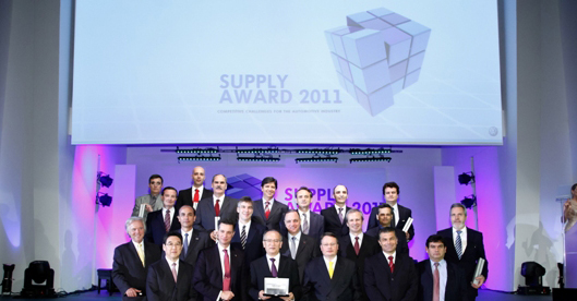 GH Induçao nominated by VW Brazil at the Supply Awards 2011