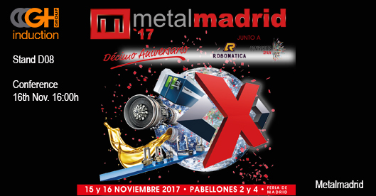 METALMADRID, Stand D08 & conference