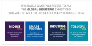 Badge Industrie
