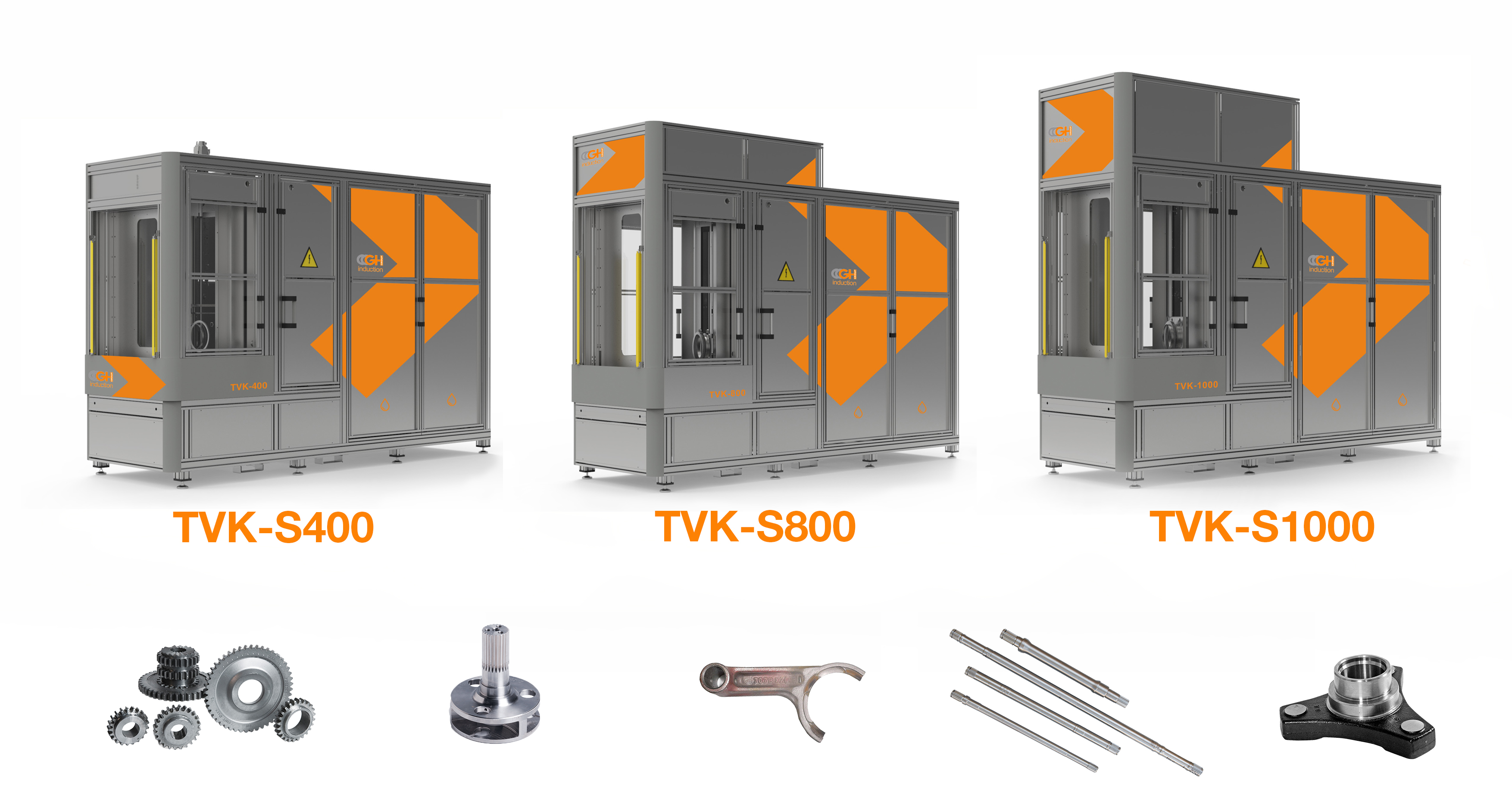 Compact vertical induction machines, TVK-S Serie