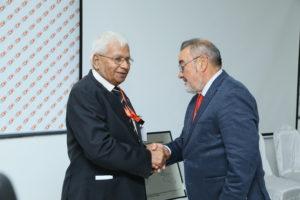 Original founders, Mr. Chari and Mr. Jose Vicente Gonzalez