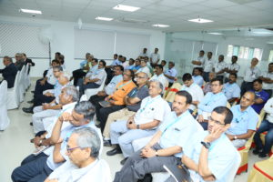 GH India customers, partners and colleagues during speeches