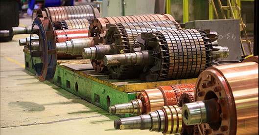 New high-power induction motors brazed with GH-SCR system